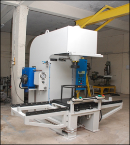 15 - T - C Frame - Hydraulic Press for Clipper