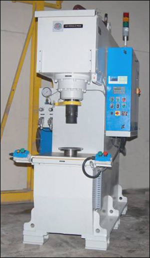 50 - T Ring Gear Bush Hydraulic Press
